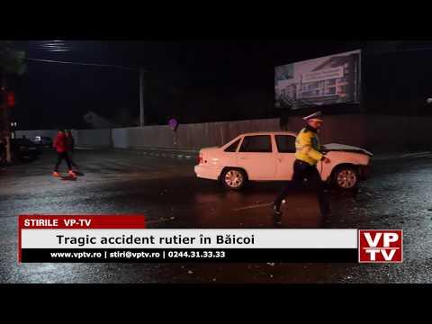 Tragic accident rutier în Băicoi
