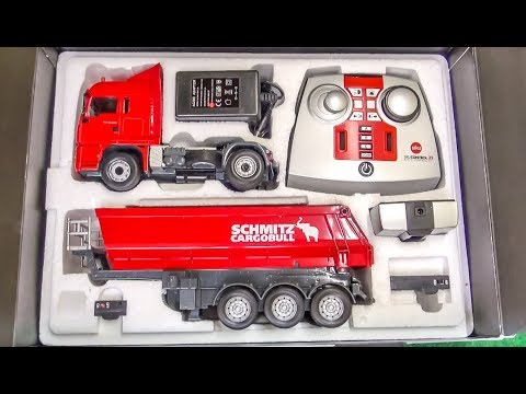 RC Truck gets unboxed, tested and dirty!