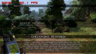 Cabela's Outdoors Adventures - PC Gameplay - Played and Fraps Recorded on an ATI Radeon HD 3870 at 1280X720
