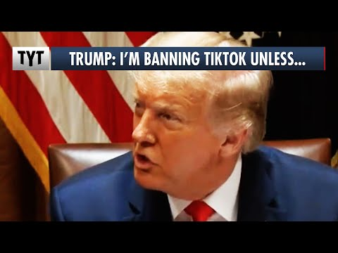 Trump: I'm Banning TikTok in September Unless...