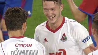 Топ-5 голов «Локо» в сезоне-17/18: Миранчук, Фернандеш, Фарфан, Рыбуc