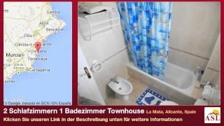 preview picture of video '2 Schlafzimmern 1 Badezimmer Townhouse zu verkaufen in La Mata, Alicante, Spain'