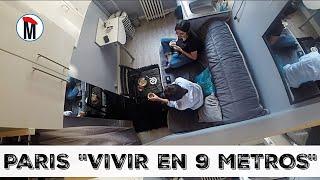"""PARIS """"VIVIR EN 9 METROS """" UNA DURA REALIDAD #unamexicanaenparis"""