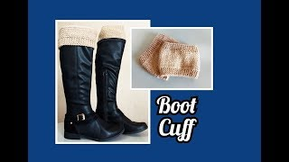 Mini Polainas 👉 Boot Cuff 👉 Iniciantes