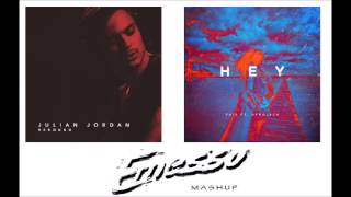 Julian Jordan vs Fais ft. Afrojack - Rebound vs Hey
