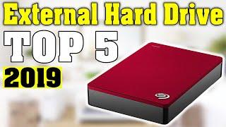 TOP 5: Best External Hard Drive 2019