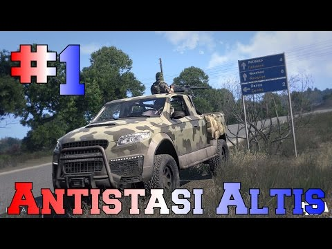 Arma 3 Antistasi Altis - S1 - EP1 - Getting Started
