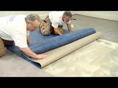 Forbo Marmoleum Sheet Installation Video