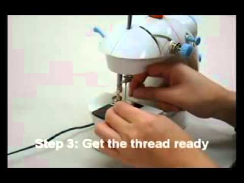 4 in 1 Mini Portable Sewing Machine with Light