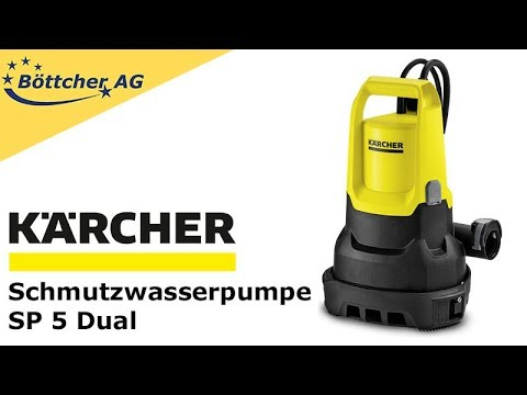 Schmutzwasserpumpe Kärcher SP 5 Dual 1.645-580.0