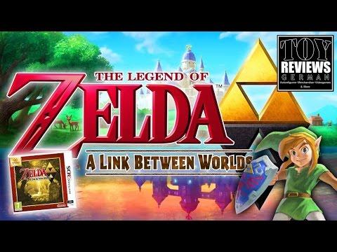 """Nintendo Selects """"The Legend of Zelda: A Link between Worlds""""   German Unboxing (Deutsch)"""