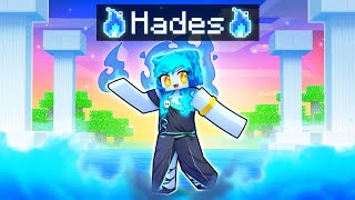 Playing as the Goddess HADES In Minecraft!