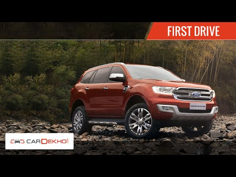 2015 Ford Endeavour | Exclusive First Drive | CarDekho.com