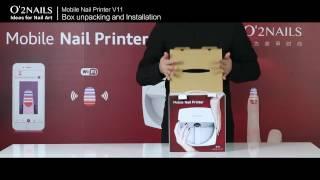 V11 Box unpacking and Installation | O2Nails USA