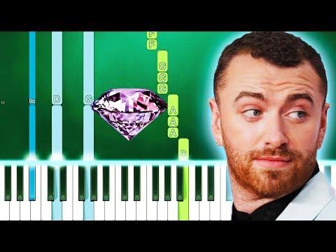 Sam Smith - I Feel Love (Piano Tutorial Easy) By MUSICHELP