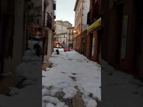 Vídeo de la granizada./SN