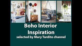 Boho Interior Inspo - Bohemian Home Decor Ideas For Living Room, Bedroom, Kitchen And Bathroom