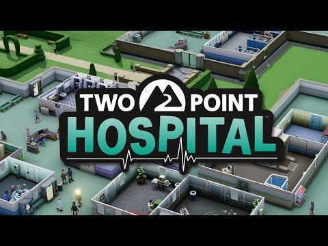 TWO POINT HOSPITAL #1 Игры в доктора (Стрим #107)