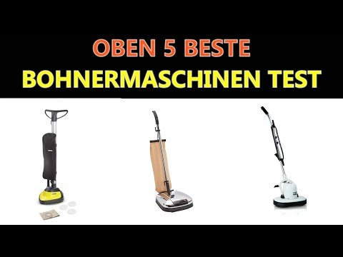 Beste Bohnermaschinen Test 2019