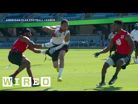 Inside the High-Tech Flag Football League That's Taking on the NFL | WIRED