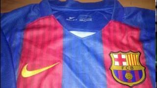 4371212e71f ☻ Camisa Barcelona Home 16 17 Fans - Aliexpress Unboxing - Дарья ...