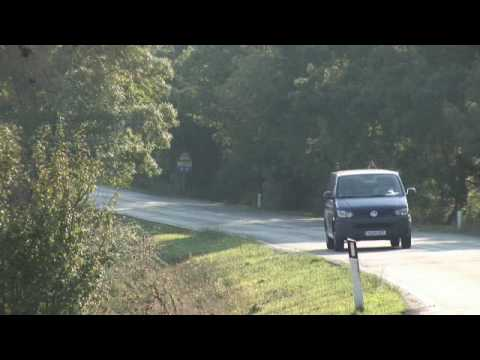 Official introduction to the new 2010 Volkswagen Transporter, Caravelle and California.wmv