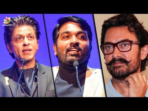 Vijay Sethupathi confirms acting with Aamir Khan | Hot Tamil Cinema News | Shahrukh Khan