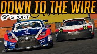 Gran Turismo Sport: Down To The Wire!