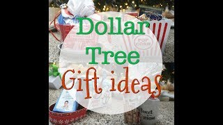 5 GIFT BASKET IDEAS FOR UNDER $10! // DOLLAR TREE // CHRISTMAS GIFTS