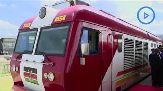 SGR freight service to Naivasha launched