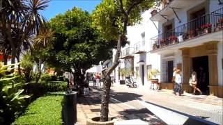 preview picture of video 'Casco Viejo Marbella en Primavera, Andalucia'