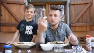 PIZZA CHALLENGE Z BRATEM!!!  LUKA