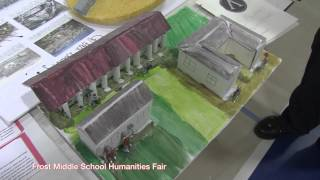Frost Middle School Humanities Fair