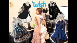 Trying Lolita Dresses Under $20 From WISH