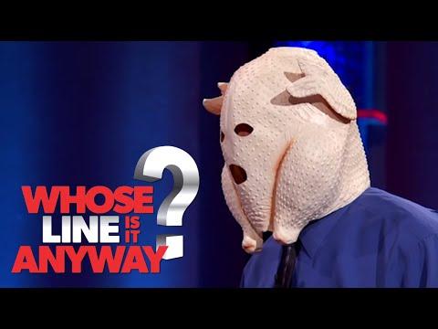 Nic než otázky: Strašidelný Colin - Whose Line Is It Anyway?