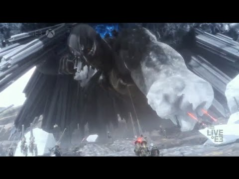A Look AtFinal Fantasy XV's Massive Titan Boss Fight