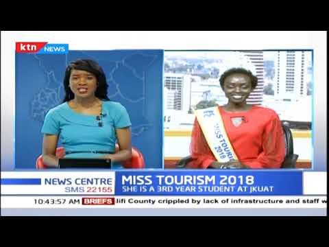 Sarah Pkyach crowed Miss Tourism 2018