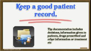 Appraisal of doctors GMC recommendation domain 1