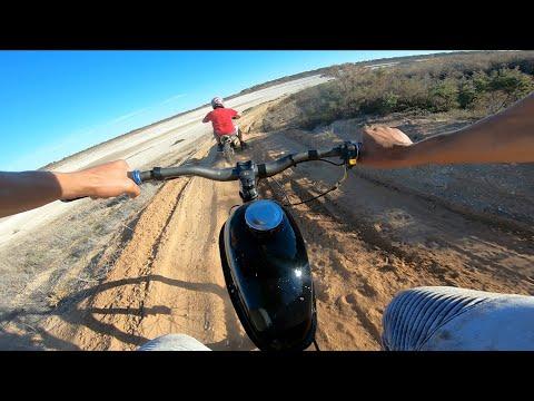 Riding a Motorised Bike on Motorbike Tracks