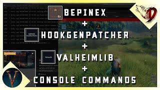 How To Add Mods Valheim Setting up BepInEX HookGen ValheimLib and Console Commands Simplified