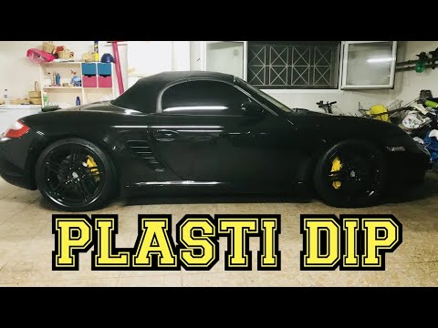 Plasti Dip - Porsche Boxster S Black Wheels