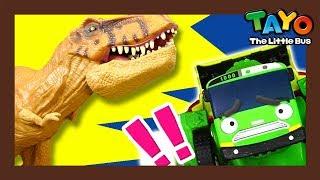 Tayo Helden l Tayo spielzeug für kinder l #10 Dinosaurier vor schwerem Gerät! l Tayo Der Kleine Bus
