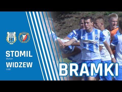 Bramki z meczu CLJ: Stomil Olsztyn - Widzew Łódź 3:0