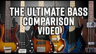 THE ULTIMATE BASS COMPARISON VIDEO
