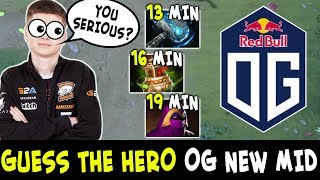 Guess the hero — new OG mid Topson vs Ramzes