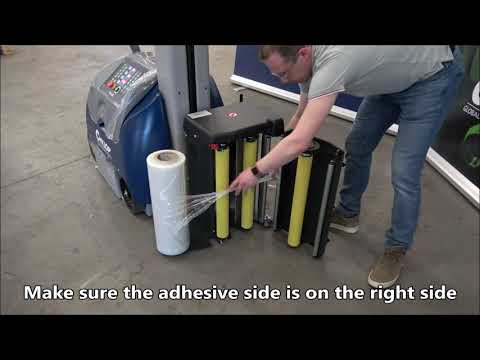 CSM 211 / 212 / 213: Placing wrapping film