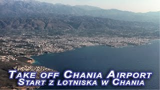 Start z lotniska w Chanii