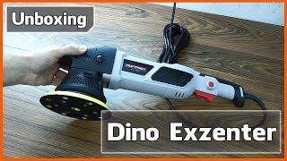 Unboxing: Dino Exzenter Poliermaschine 21 mm 950 Watt [Deutsch] - Erster Eindruck