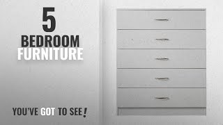 Top 10 Bedroom Furniture [2018]: Laura James | Tall Chest Of Drawers | 5 Drawer | Bedroom Furniture