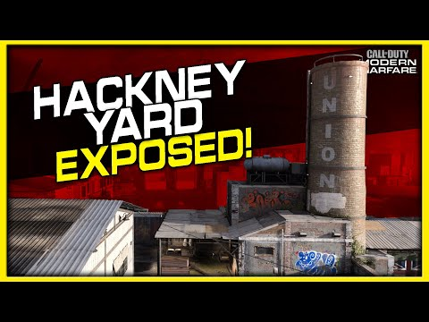 Hackney Yard Lines of Sight, Jump Spots and Spawns | (Modern Warfare Maps Exposed)
